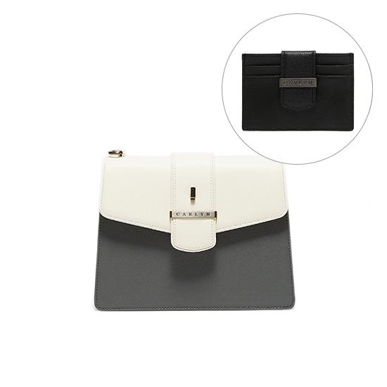 New HesterM(X) + Flat Card Wallet SET (H78166010(X)+W78372020)
